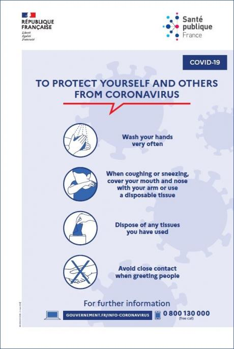 Coronavirus: protect yourself and the others
