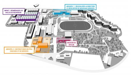 Plan campus projets ECL 4.0
