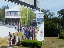 Entrée du campus Centrale Lyon 2019