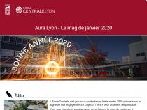 Aura Lyon mag de janvier 2020