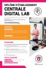 Digital Lab plaquette